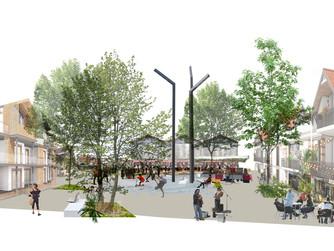 Propositions d'aménagement du centre-ville