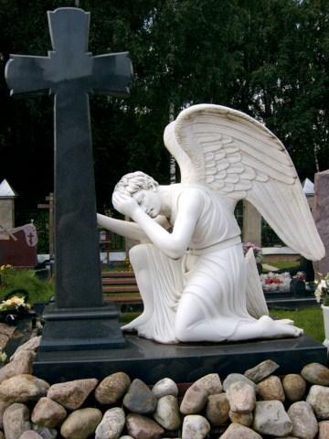 мир камня ангел мрамор