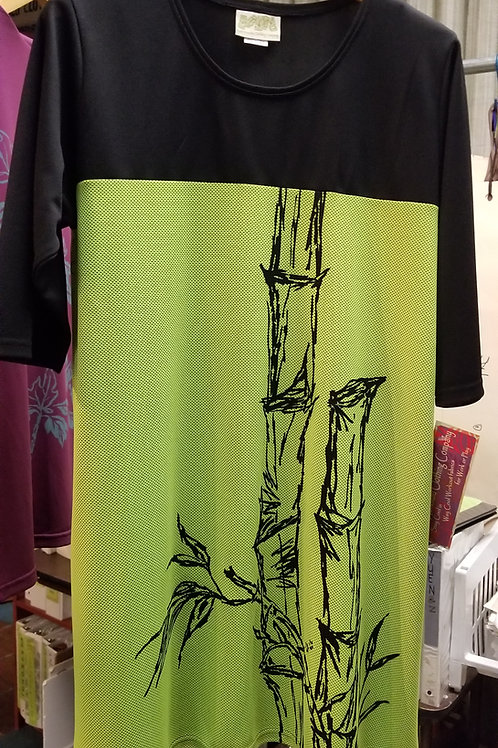 Lime Bamboo T4T Tunic