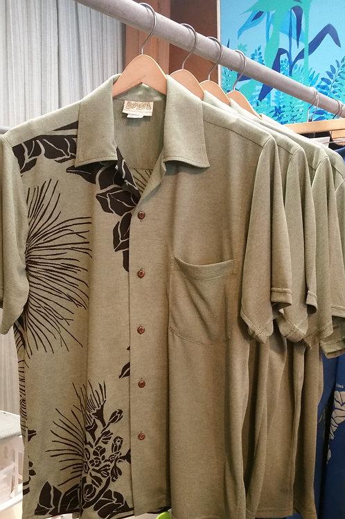Sage Green Heather Aloha Shirt