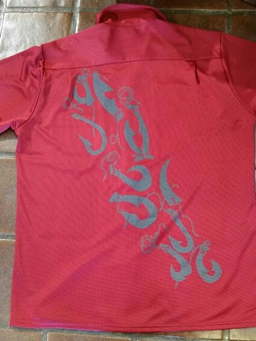 Mo's Big Hooks Aloha Shirt
