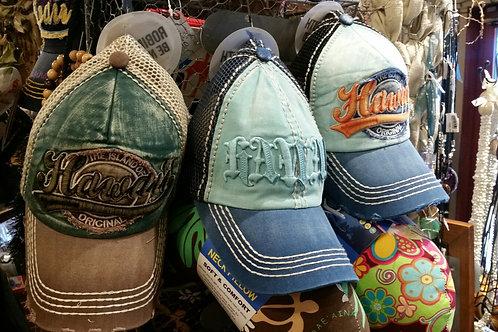 Vintage Style Hawaii Caps