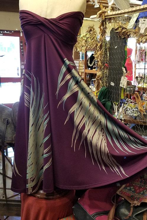 Plum Hula Holoholo D77 Dress