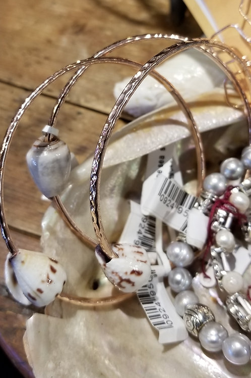 Cone shell bangles