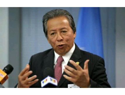 Personal response from Anifah Aman, Malaysian Minister of Foreign Affairs.