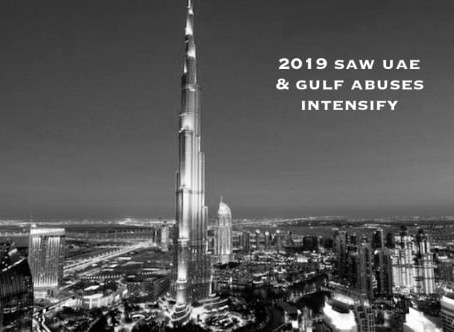 2019 saw UAE & Gulf Abuses intensify - Detained in Dubai