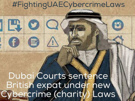 Today the Court Orders British Expat´s Deportation - Another Victim of Cybercrime (Charity) Laws.