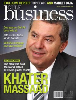 Dr Khater Massaad, Gulf Business