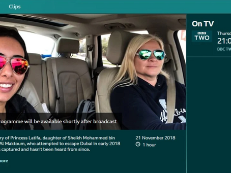 Radha Stirling comments on the escalation of belligerent behaviour of the UAE