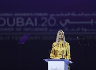 "Should Ivanka Trump be headlining the ""Global Women's Forum"" in Dubai, while Sheikh Mohammed's own"