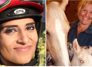 Emirati jockey who promised to drop charges against American mother & horse bite victim, lodges