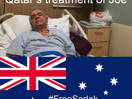 Australians voicing outrage over Qatar's mistreatment of citizen