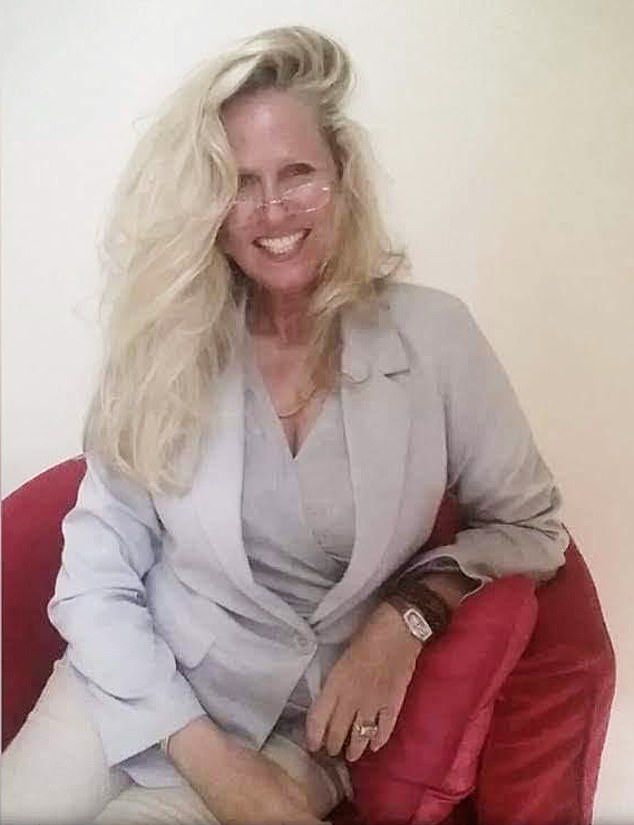Melissa McBurney, detained in the UAE