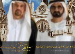 Briton launches £1 billion lawsuit against Dubai elite, royals.