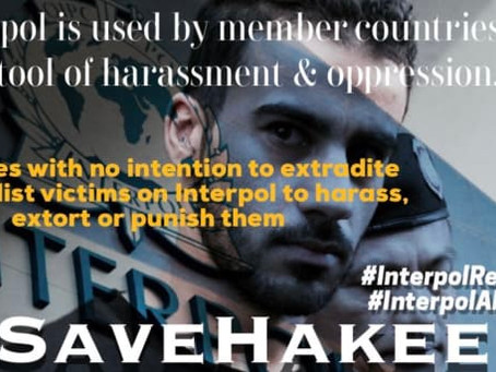 Stirling to lobby AFP on Interpol Reforms following Hakeem Alaraibi blunder