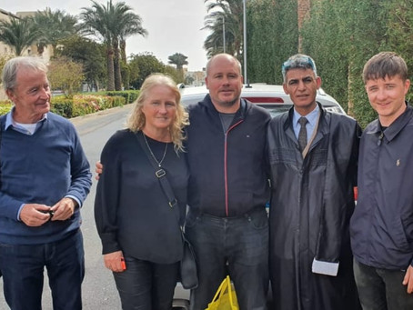 """Brit jailed in Egypt for """"patting security guard"""" freed following media campaign by human"""