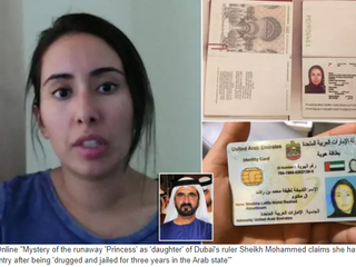 "Unfolding mystery of ""Runaway Dubai Princess"" with American national - Desperate FULL LENGTH vi"