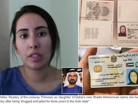 "Unfolding mystery of ""Runaway Dubai Princess"" with American national - Desperate FULL LENGTH vi"