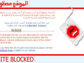 Censorship: UAE blocks organisation detainedindubai.org & radhastirling.com