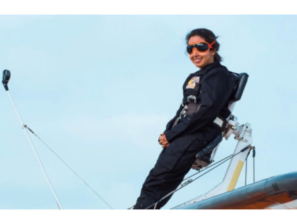 Sheikha Latifa, famous for her skydiving (not to be confused with the other Sheikha Latifa's)