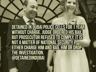 Innocent British man held for over a YEAR at police station WITHOUT charge pleads to be bailed or se