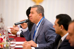 Dr Khater Massaad, speaking