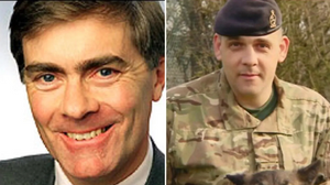 Colonel Patrick Mercer. Former commanding officer of the Worcestershire and Sherwood Foresters (left). Andrew Neal (right)