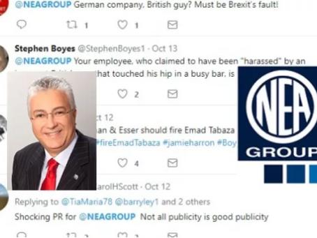 German company Neuman & Esser suffering international backlash over Managing Director Emad Tabaz