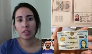 "@MailOnline ""سر الأميرة الهاربة"" و""ابنة"" حاكم دبي الشيخ محمد التي تدعي أنها هربت من البلاد بعد أن تم ""تخديرها وسجنها لمدة ثلاث سنوات في بلدها العربي""."