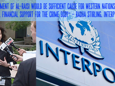 "Interpol ""pawns to Arab nations"" as Abu Dhabi bids for presidency.  Stirling calls for reform."