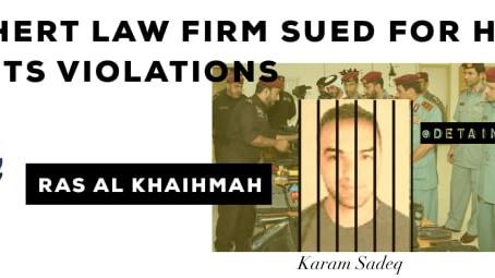 Law firm Dechert sued in London for human rights abuses in Ras Al Khaimah, UAE