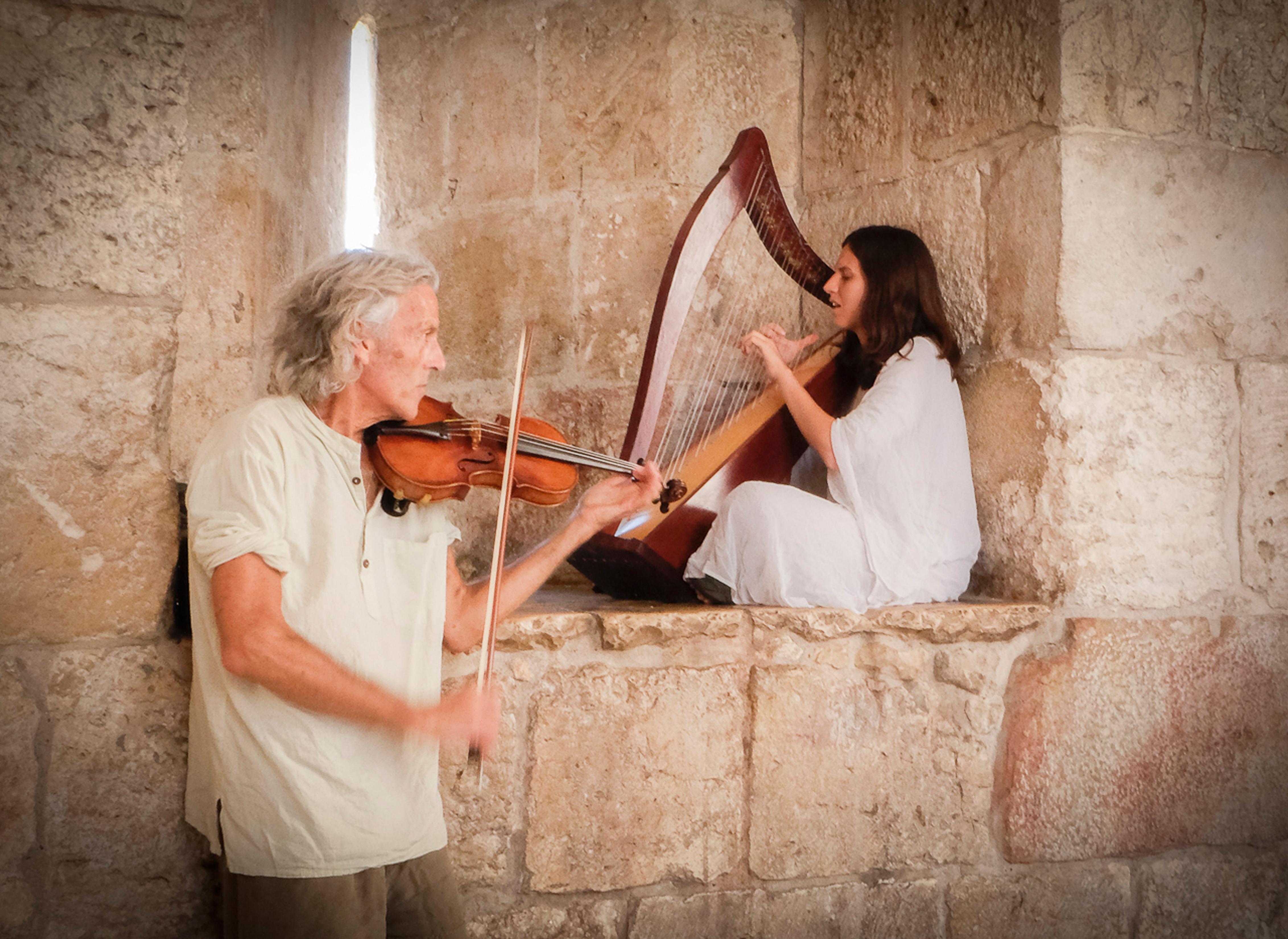 Musicians Jaffa Gate