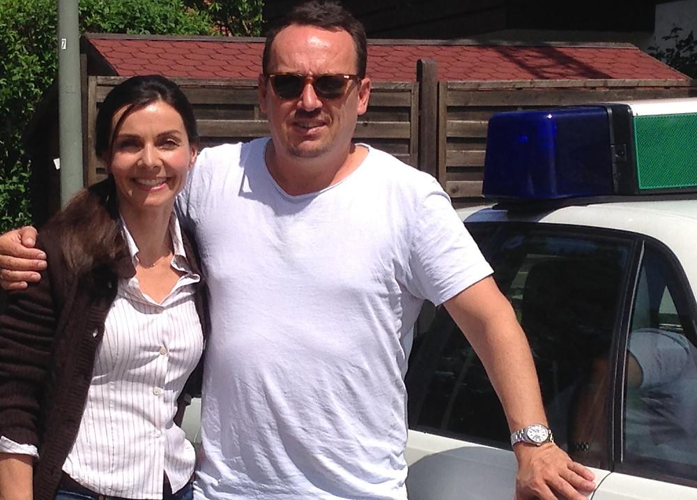Hier mit dem Regisseur, Philipp Osthus.
