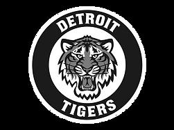 Detroit-Tigers Logo BW.png