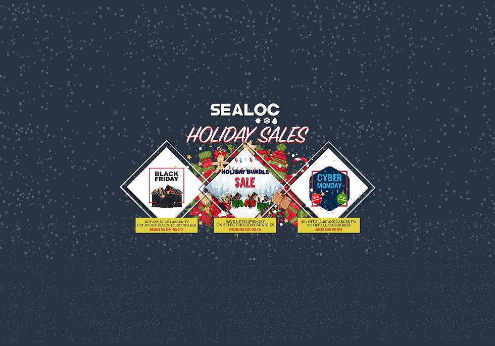 Sealoc Holiday Sales Promos Banner(Retai