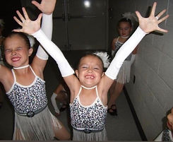 During the recital, dancers are always excited to go onstage and perform.