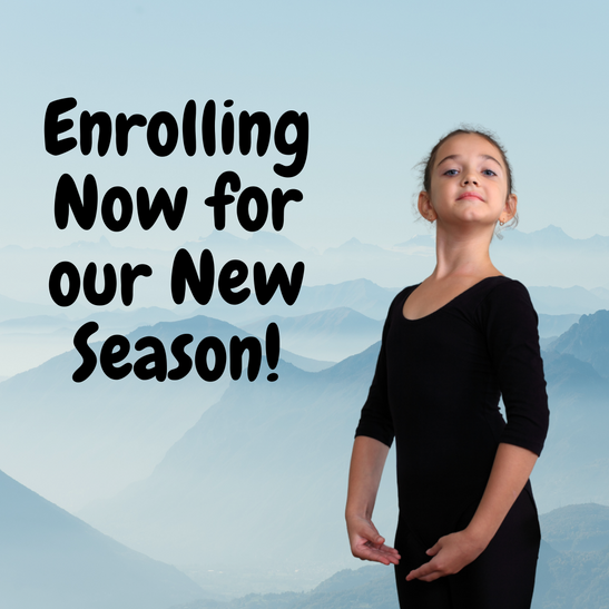 We are now enrolling for our 2021-2022 season!