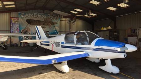 Des ailes supplémentaires pour l'aéroclub : Un DR400 160CV