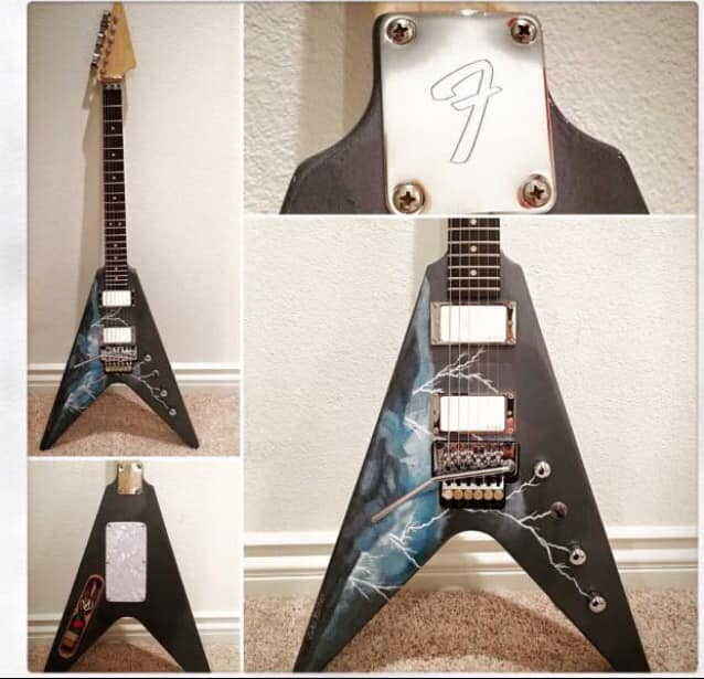 Just one of our many awesome prizes, donated by Audio Asylum Guitars