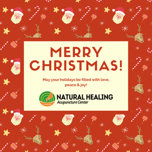 Natural Healing Acupuncture Center Dubai - Christmas Greeting