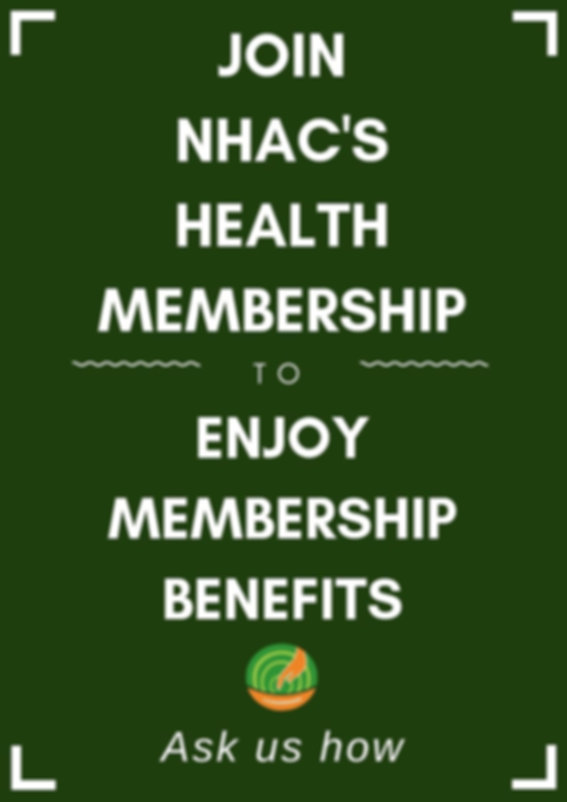 Natural Healing Acupuncture Centr Health Membership