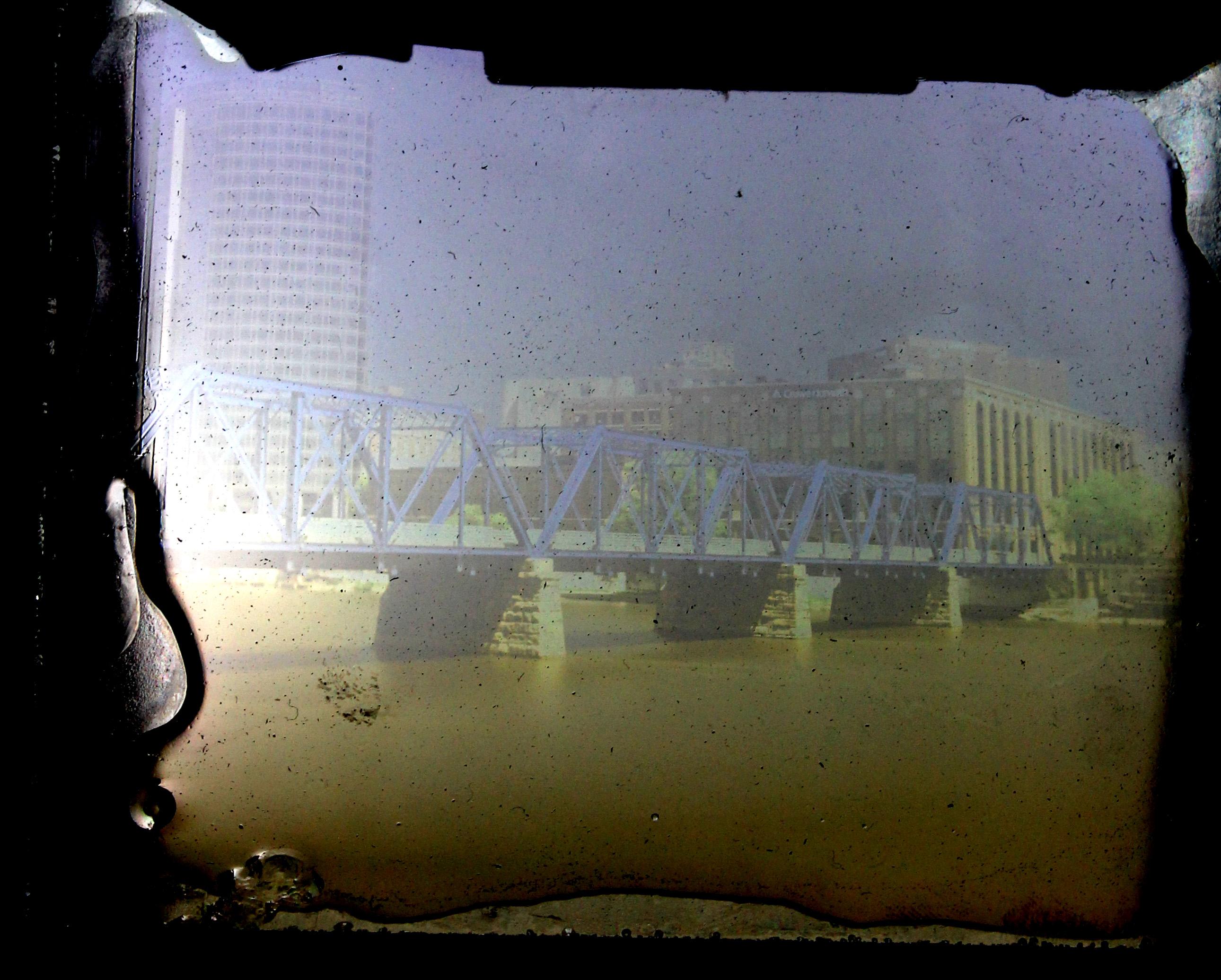 Blue Bridge (unmounted)