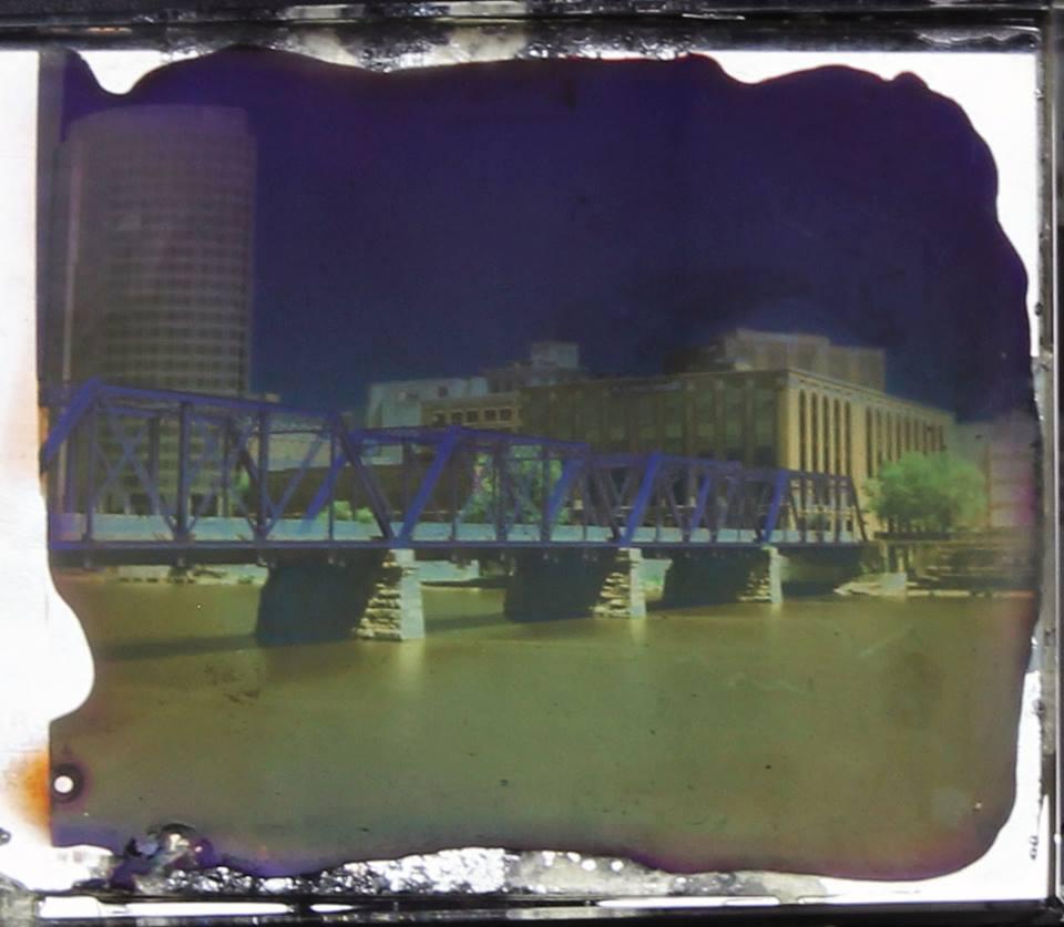 Blue Bridge (Mounted)