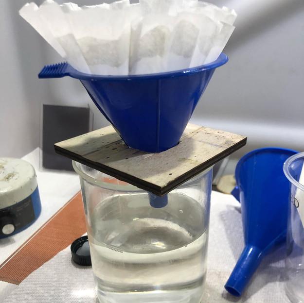Filtering the beta-resene