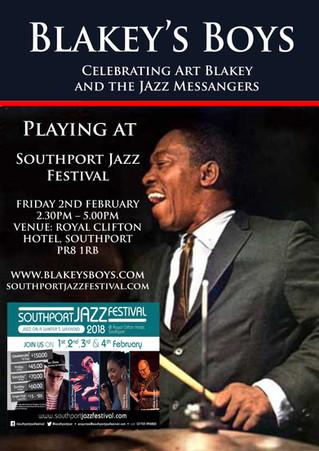 Blakey's Boys at Stockport Jazz Festival