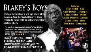 Blakey's Boys New Show