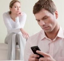 Problemer i parforholdet og jalousi