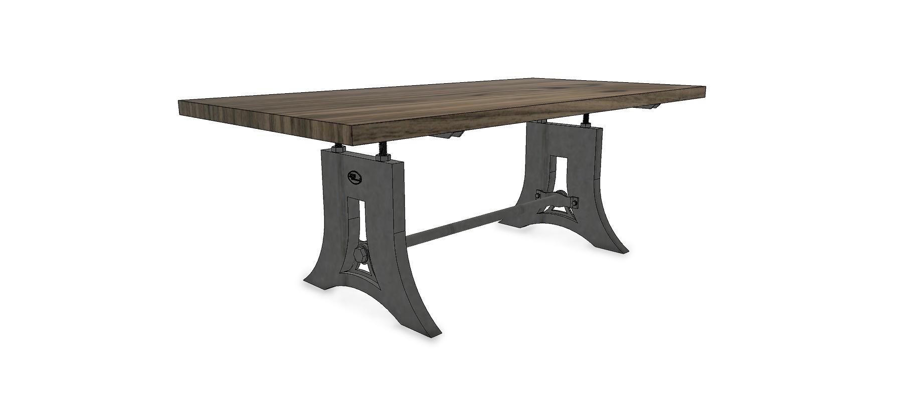 Table industrielle Acme