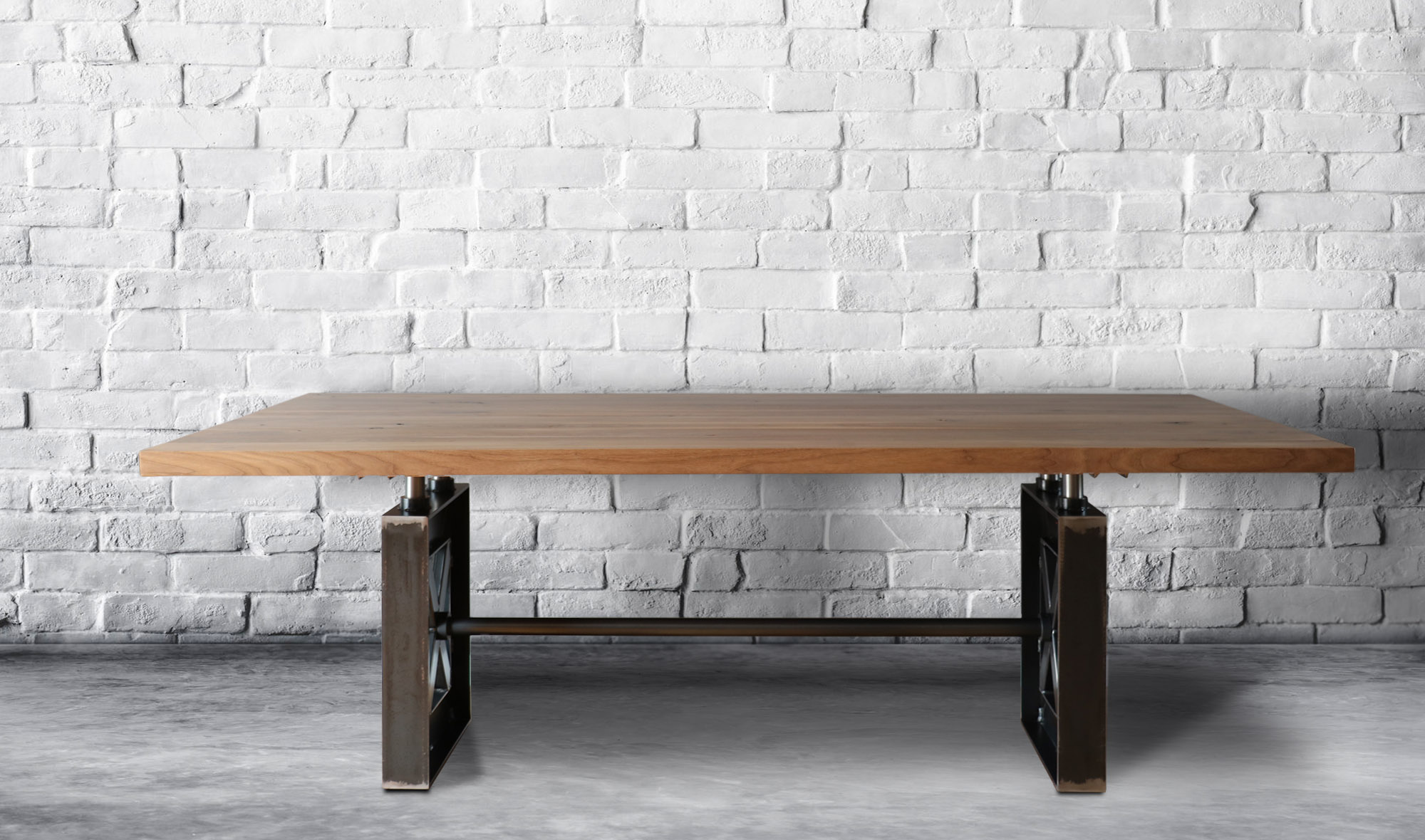 Table industriel Strata