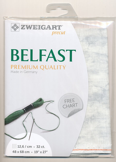 Zweigart 3609/7139 Precut Vintage Belfast